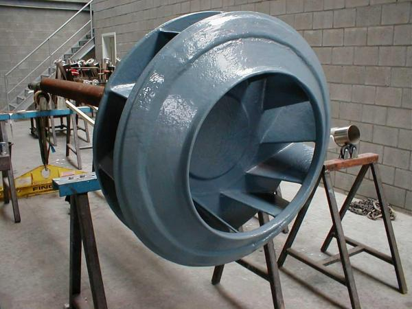 Shop Painting Turbine